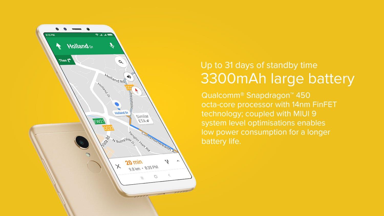 redmi 5 3300mAh Battery