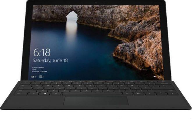 Microsoft Surface Pro 4 Core m3 6th Gen - 1724 2 in 1 Laptop - best microsoft laptop under 50000