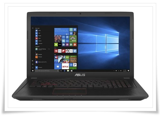 ASUS FX553VD-DM1032T 2017 15.6-Inch Laptop