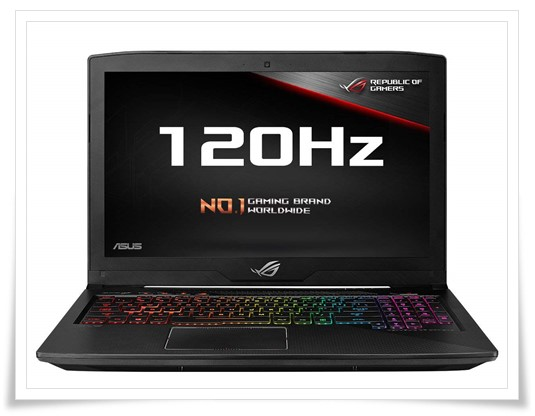 ASUS Rog Strix Core i7 8th Gen 15.6-inch Laptop - best laptop under 150000, best gaming laptop under 150000