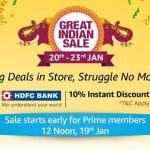 Amazon Republic Day Sale - Top Gadgets Deals & Discounts - 20th - 23rd January 2019