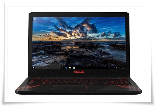 Asus Gaming FX570UD-E4168T 15.6-inch Laptop - best gaming laptop under 60000