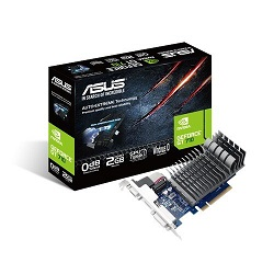 Asus Nvidia GeForce GT 710 2GB 64-Bit DDR3 PCI Express Graphic Card - best graphics card under 5000, best graphics card under 5000 rs 2018, best gaming graphics card under 5000