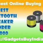 Best Bluetooth Speaker Under 1000