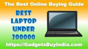 Best Laptop Under 200000