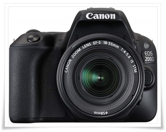 Canon EOS 200D 24.2MP Digital SLR Camera with EF-S 18-55 mm is STM Lens and EF-S 55-250 mm is STM LensCamera Case - best dslr under 60000, best dslr camera under 60000, best dslr camera under 60000 in 2019