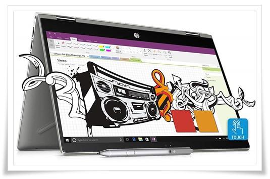 HP Pavilion x360 14 cd0087TU Laptop - Best Laptop Under 70000, Best Gaming Laptop Under 70000, Best Laptop Under 70000 In India 2019