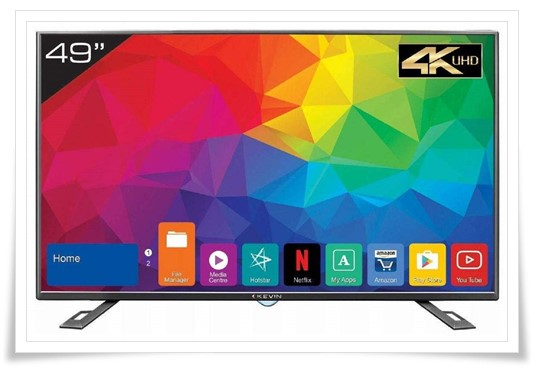 Kevin 49 inches 4K TV - best tv under 30000, best smart tv in india under 30000, best led tv under 30000