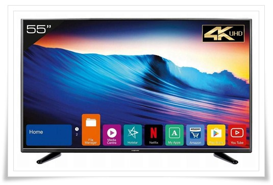 Kevin 55 inches KN55UHD 4K Ultra HD Smart LED TV