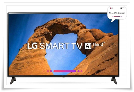 LG 43 Inches 43LK5760PTA Full HD LED Smart TV