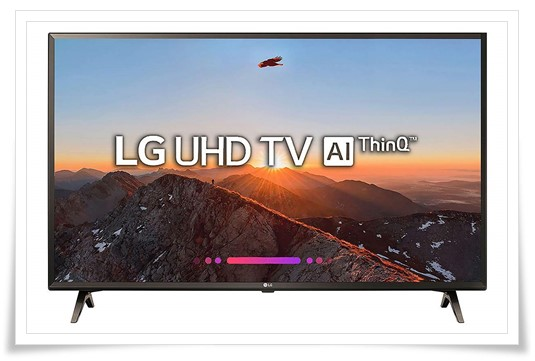 LG 43 inches 43UK6360PTE 4K UHD LED Smart TV