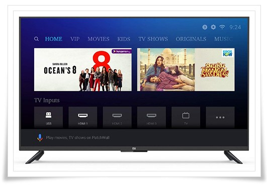 Mi 49 inches - best tv under 30000, best smart tv in india under 30000, best led tv under 30000
