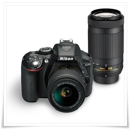 Nikon D5300 24.2MP Digital SLR Camera - best dslr under 50000