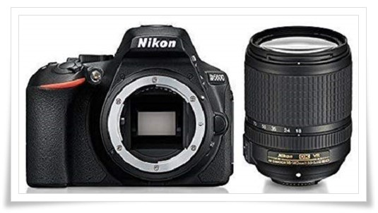 Nikon D5600 Digital Camera 18-140mm VR Kit (Black) with Bag and Card - best dslr under 60000, best dslr camera under 60000, best dslr camera under 60000 in 2019