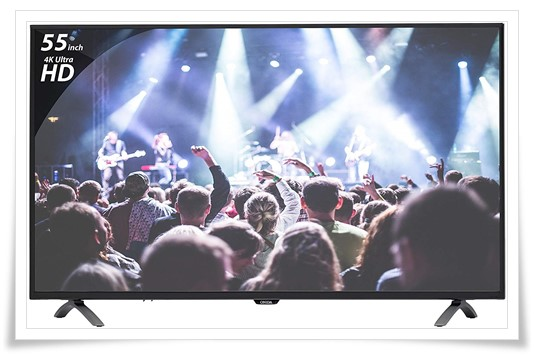 ONIDA 55 inches K Y Rock 55UIR 4K UHD LED Smart TV - best 4k tv under 60000