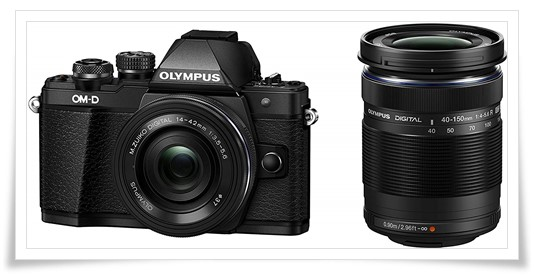 Olympus V207053BE000 OM-D E-M10 Mark II Camera - best dslr under 70000