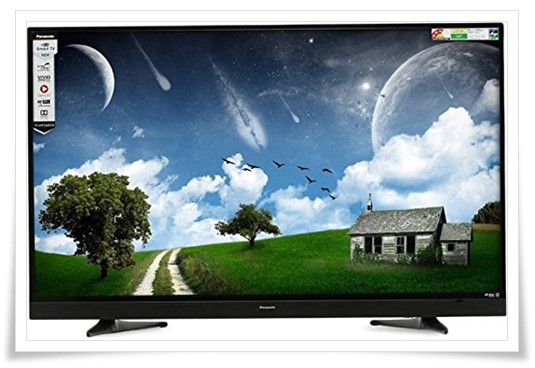 Panasonic 49 Inch TH-49ES480DX Full HD Smart LED TV - best tv under 50000
