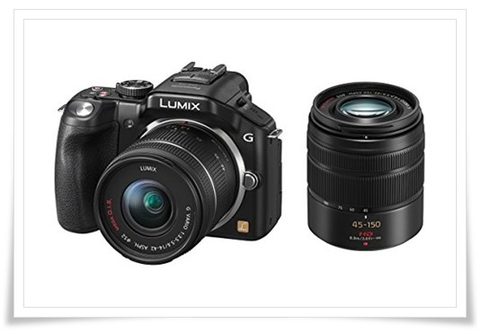 Panasonic Lumix DMC-G5W Mirrorless - best dslr under 50000