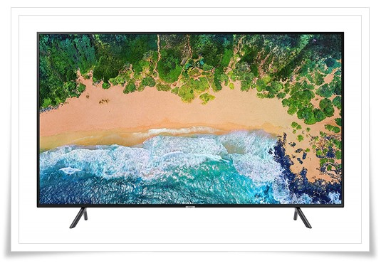 Samsung 49 inches 7 Series 49NU7100 4K LED Smart TV - best 4k TV under 70000