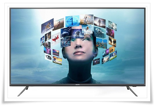 Sanyo 55 inches Certified Android XT-55A081U 4K Smart IPS LED TV - Best Smart TV Under 60000, Best TV Under 60000, Best 4k TV Under 60000