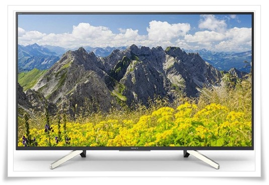 Sony 43 inches KD-43X7500F 4K Ultra HD Smart LED TV - best smart TV under 70000