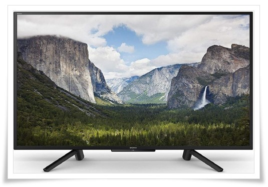 Sony 50 inches KLV-50W662F Full HD Smart LED TV - best TV under 70000