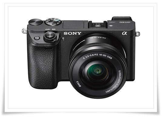 Sony Alpha A6300L 24.2 MP Digital SLR Camera (Black) with 16-50 mm Lens - best dslr under 60000, best dslr camera under 60000, best dslr camera under 60000 in 2019