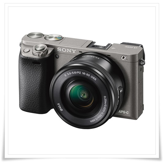 Sony Alpha ILCE-6000L 24.3MP Digital SLR Camera - best dslr camera under 50000