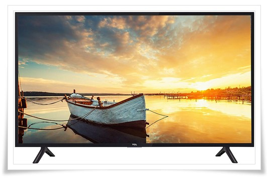 TCL 40 inches 40S62FS Full HD Smart LED TV - best tv under 20000