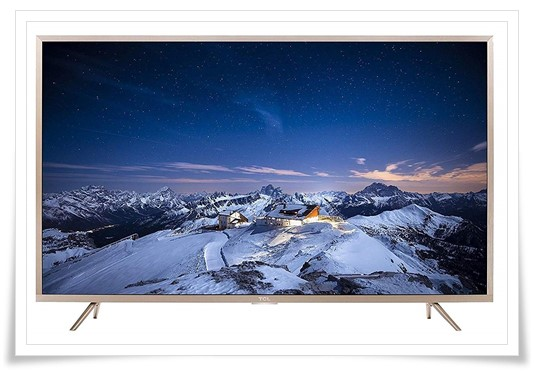 TCL 43 inches 4K TV - best tv under 30000, best smart tv in india under 30000, best led tv under 30000