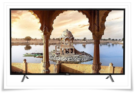 TCL 49 inches - best tv under 30000, best smart tv in india under 30000, best led tv under 30000