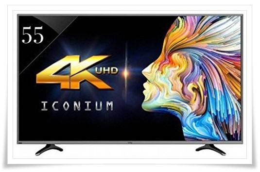 VU 55 inch 55UH7545 Ultra HD 4K Smart LED TV - best 55 inch tv under 60000