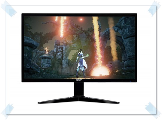 Acer KG241Q bmiix 23.6-inch Full HD Gaming Monitor - best monitor under 10000, best led monitor under 10000, best gaming monitor under 10000