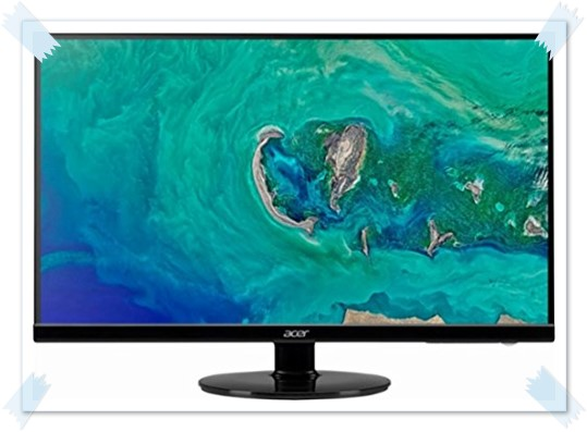 Acer S271HL H 27 inch LED Monitor - best monitor under 15000, best gaming monitor under 15000, best 27 inch monitor under 15000