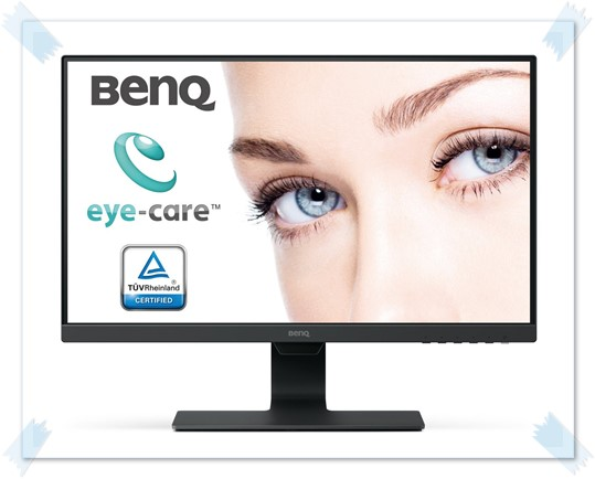 BenQ GW2480 23.8 inch Edge to Edge LED Monitor - best monitor under 15000, best gaming monitor under 15000, best 24 inch monitor under 15000