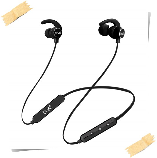 BoAt Rockerz 255 Sports Bluetooth Wireless Earphone - best earphones under 3000, best wireless earphones under 3000, best bluetooth earphones under 3000