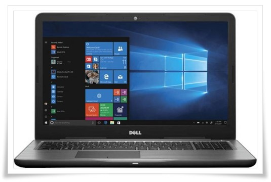 Dell Inspiron 5000 Core i5 7th Gen – 5567 Laptop - best dell laptop under 50000