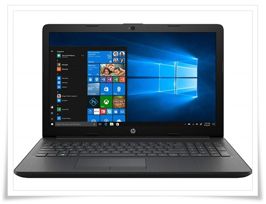 HP 15 Core I5 8th Gen 15.6-Inch FHD 15q-ds0010TU Laptop - best laptop under 50000