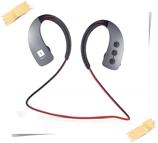 Iball Musi GearPlay Bluetooth Earphone - best earphones under 1000, best earphones with mic under 1000, best bass earphones under 1000