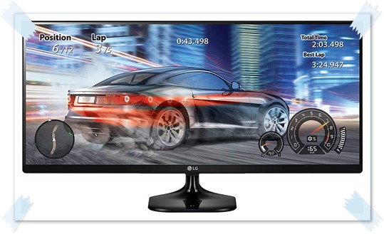 LG 25UM58 25 inch Ultrawide Gaming Monitor - best monitor under 15000, best gaming monitor under 15000, best 25 inch monitor under 15000