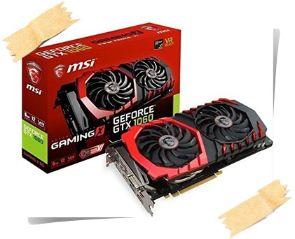 MSI Geforce GTX 1060 Gaming X 6G Twin Frozer VI PCI-E Graphics Card - best graphics card under 30000, best graphics card under 30000 2019