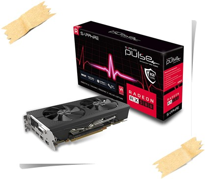 Sapphire 11265-05-20G Radeon Pulse RX 580 8GB GDDR5 Graphics Card - best graphics card under 25000, best graphics card under 25000 rs 2019