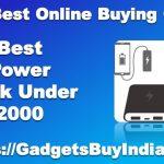 Best Power Bank Under 2000