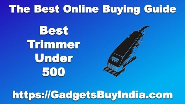 Best Trimmer Under 500