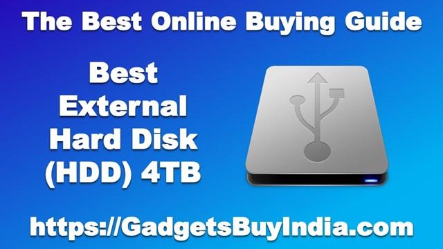 External Hard Disk 4TB