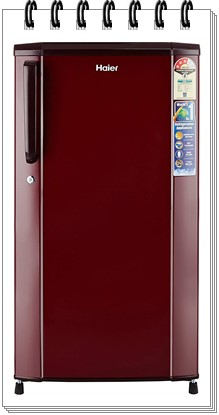 Haier 170 L 3 Star Direct Cool Single Door Refrigerator