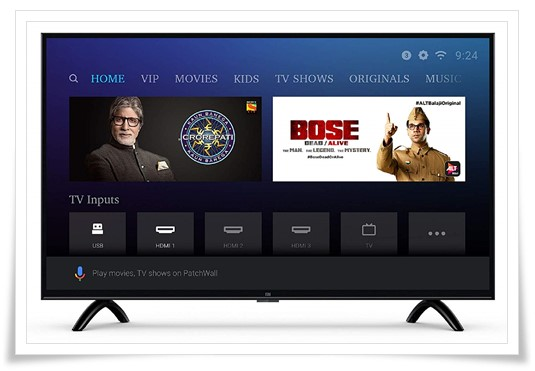 Mi LED TV 4C PRO 32-Inch HD Ready Android TV - best tv under 20000, best led tv under 20000, best smart tv under 20000