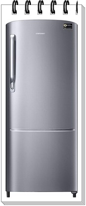 Samsung 192 L 4 Star Direct-Cool Single-door Refrigerator