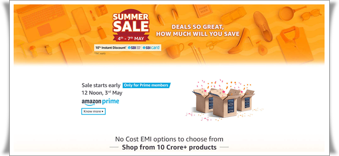 Amazon Summer Sale 2019 Top Gadgets Deals & Discounts 2019
