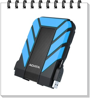 ADATA HD710 Pro 2TB Shockproof - external hard drive 2tb, best external hard drive 2tb in india 2020